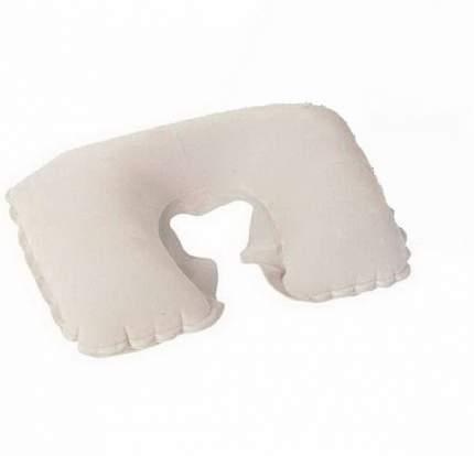 Bestway, 67006 BW, Надувная подушка под шею Flocked Travel Pillow 46х28 см, цвет Белый