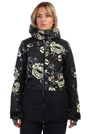 Куртка Roxy TB Snowflake, true black/torahs roses, XS INT