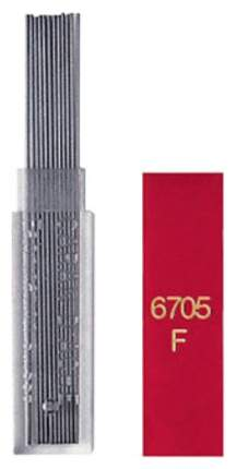 Грифели Caran d'Ache для механического карандаша, 0,7 мм, HB, 12 шт в упаковке