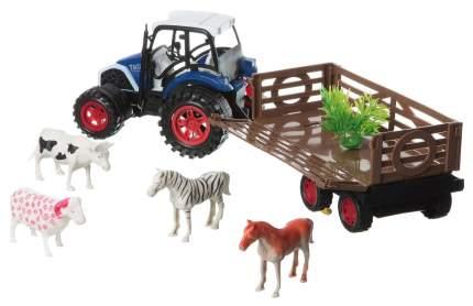 Машинка инерционная farm world трактор Shenzhen toys В54180