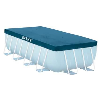 Тент для прямоугольного каркасного бассейна  intex 400х200 см, арт, 28037, Интекс