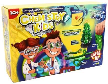 Набор для исследования Danko Toys Chemistry Kids 10 Магических экспериментов CHK-01-04