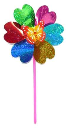 Вертушка Наша Игрушка Бабочка на цветке 6811C