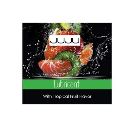 Пробник лубриканта Juju с ароматом тропических фруктов вкусовой 3 мл
