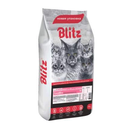 Сухой корм для кошек BLITZ, ягненок, 10кг