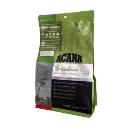 Сухой корм для кошек ACANA Regionals Grasslands, ягненок, индейка, утка, рыба, 0,34кг
