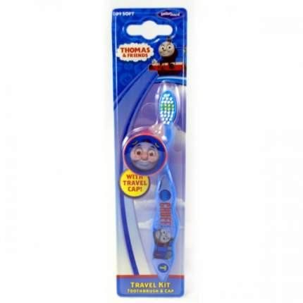 Детская зубная щетка Dr.fresh Travel Kit мягкая с защитным колпачком