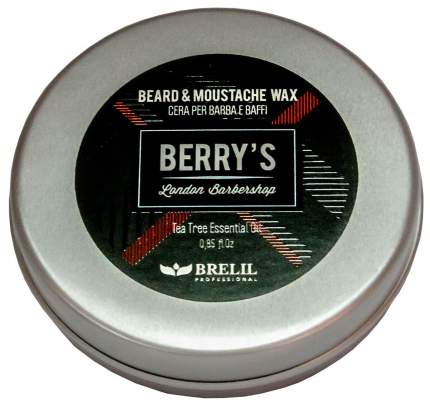 Средство для бороды и усов Brelil Berry's Beard & Moustache Wax 25 мл