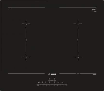 Встраиваемая варочная панель индукционная Bosch PVQ611FC5E Black
