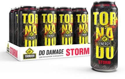 Энергетический напиток  Tornado Energy Storm 12 шт по 450 мл