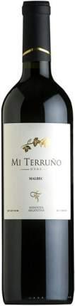 Вино Mi Terruno  Uvas Malbec
