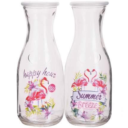 Бутылка стеклянная 0,500 л (в ассортименте) LR (х24)