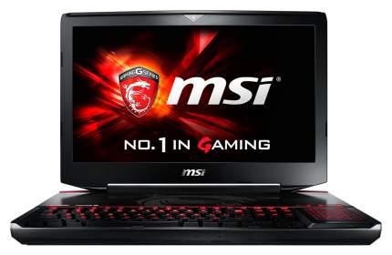 Игровой ноутбук MSI GT80S 6QF-076RU Titan SLI
