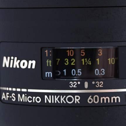 Объектив Nikon AF-S ED Micro Nikkor 60mm f/2.8G