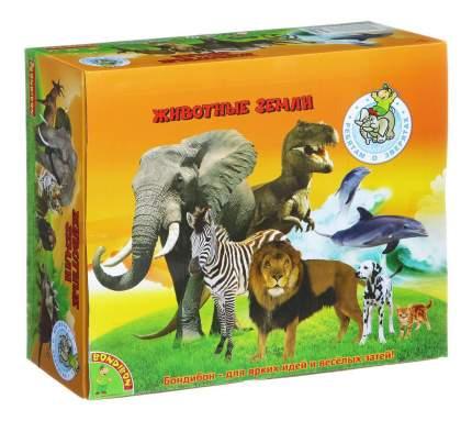 Набор животных Bondibon ребятам о зверятах, животные джунглей,12 видов, 4