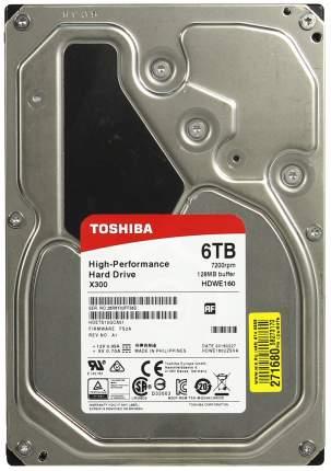 Внутренний жесткий диск Toshiba X300 6TB (HDWE160UZSVA)