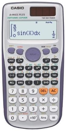 Калькулятор Casio FX-991ESPLUS Серый, фиолетовый