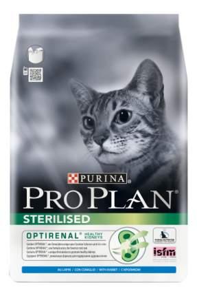 Сухой корм для кошек PRO PLAN Sterilised, для стерилизованных, кролик, 10кг