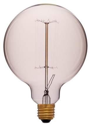 Лампа накаливания E27 40W шар золотой 052-016a