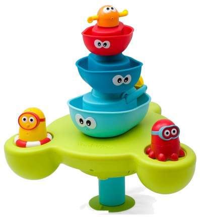 Игрушка для купания Yookidoo Пирамидка Фонтан