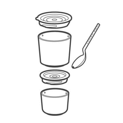 Ланч-бокс black+blum Lunch pot BP012