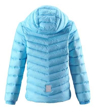 Куртка Reima пуховая для девочки Fern голубая р.110