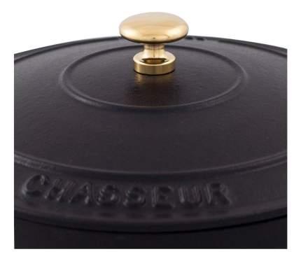 Кастрюля для запекания CHASSEUR Чугунная 5,2 л черный