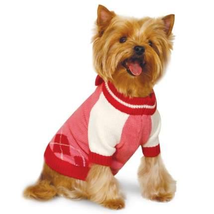 Свитер для собак Triol Minnie размер L женский, розовый, красный, длина спины 35 см