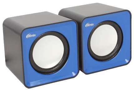 Колонки компьютерные Ritmix SP-2020 Black-Blue