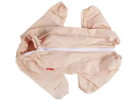 Комбинезон для собак OSSO Fashion размер L унисекс, бежевый, длина спины 35 см