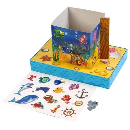 Умка настольная детская 3D игра Рыбалка (с картонными рыбками и удочкой)
