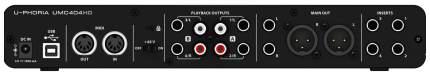 Аудиоинтерфейс Behringer U-Phoria UMC404HD