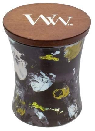 Ароматическая свеча WoodWick Черное дерево 812-969 Белый, черный