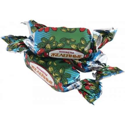 Конфеты Красный октябрь желейные барбарисовый вкус глазированные шоколадной глазурью 500 г
