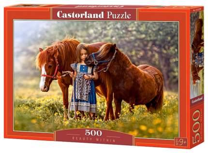 Пазлы Castorland Лошади 500 элементов B-52509