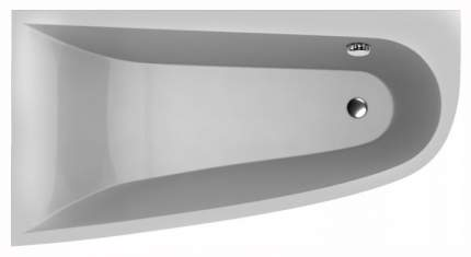 Акриловая ванна VAYER Boomerang 160х90 без гидромассажа правая
