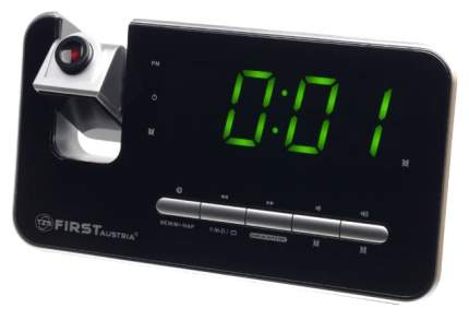 Радиочасы с проектором First 2421-7 Серебристый