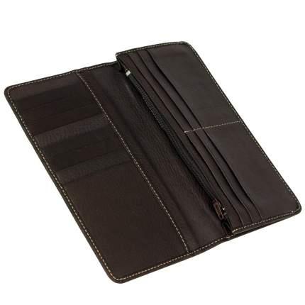 Купюрница из телячьей кожи Bufalo WLJ-19 коричневого цвета