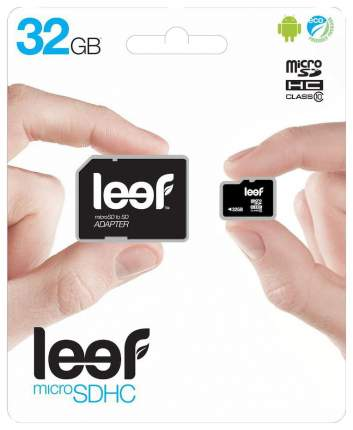 Карта памяти Leef Micro SD LMSA0KK032R5 32GB
