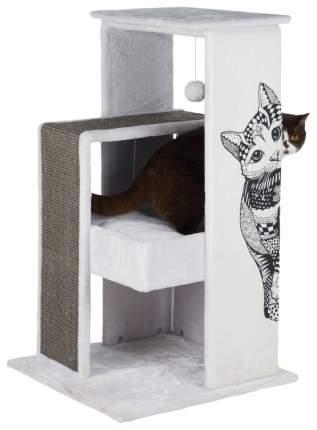 Комплекс для кошек Trixie Maria Scratching Post 58х58х101см бело-серый