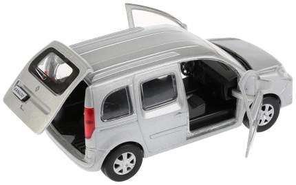 Машина металлическая инерционная Renault Kangoo, цвет серебристый, 12 см Технопарк