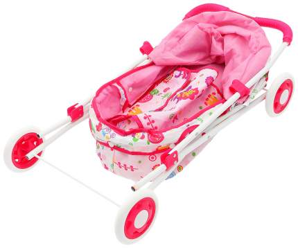 Коляска для кукол универсальная с сумкой, металлический каркас Sima-Land