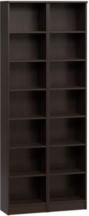 Шкаф книжный Divan.ru Цезарь-1 40х80х200, венге