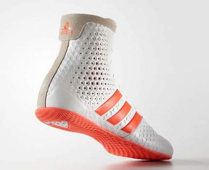 Боксерки Adidas KO Legend 16.1, белые/красные, 42.5