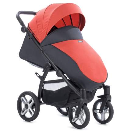 Прогулочная коляска Nuovita Modo Terreno розово - чёрный