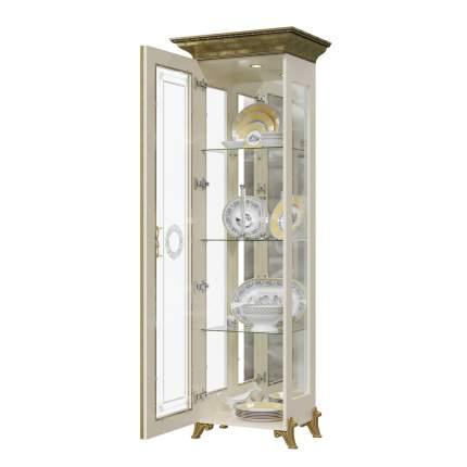 Платяной шкаф Мэри-Мебель Версаль ГВ-01 1073053 66х48х201, слоновая кость