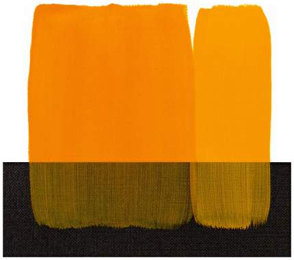 Акриловая краска Maimeri Acrilico M0916114 темно-желтый 75 мл