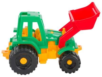Трактор Ижора с грейдером Нордпласт
