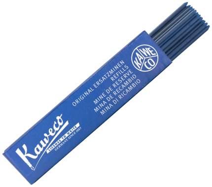 Грифели для карандашей Kaweco, цвет: синий, 2 мм, 24 штуки