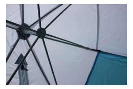 Палатка-автомат Стэк 2 двухместная белая/голубая